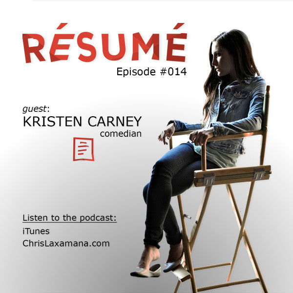 kristen carney comedian writer podcast host